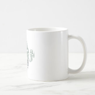Boss Dojo Basic White Mug