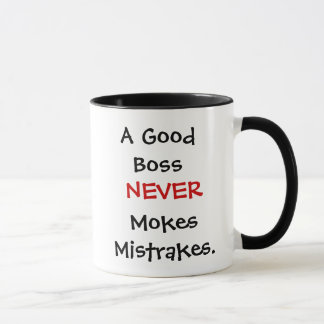 Boss Gift Mug - Funny Boss Quote