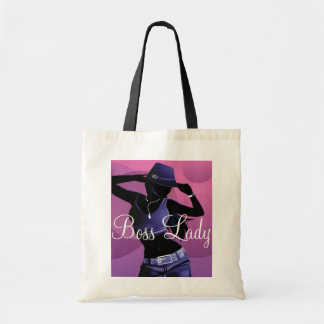 Boss Lady Fashion Budget Tote Canvas Bags
