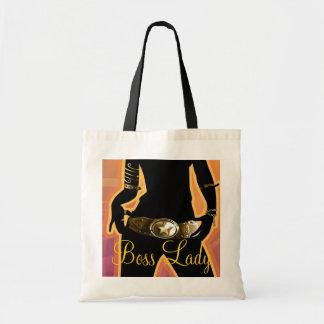 Boss Lady Fashion Budget Tote Bags