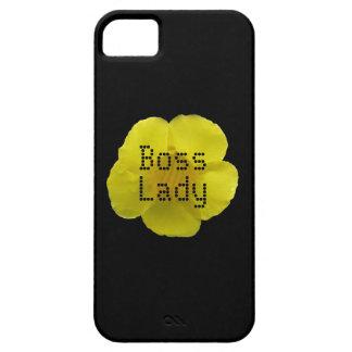 Boss Lady Flower iPhone 5 Case