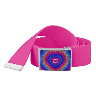 Boss Lady Heart Belt