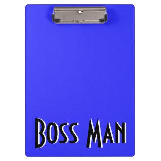 Boss Man Blue Clipboard