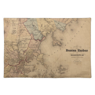 Boston 1861 placemat