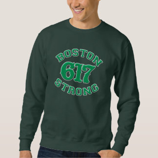 BOSTON 617 STRONG 3D Patch Sweatshirt