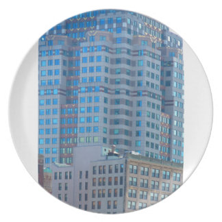 BOSTON Buildings Towers Architecture Plates