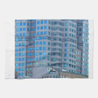 BOSTON Buildings Towers Architecture Tea Towel