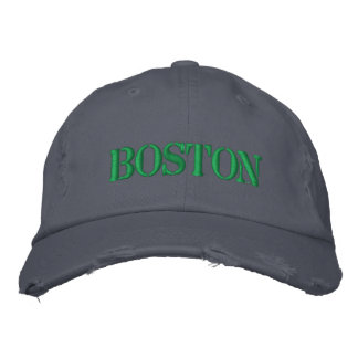 BOSTON EMBROIDERED HAT