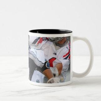 BOSTON, MA - JUNE 4:  Jeff Reynolds #21 Two-Tone Coffee Mug