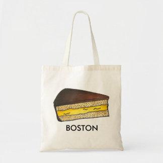 Boston MA Massachusetts Cream Pie Slice Foodie Tote Bag