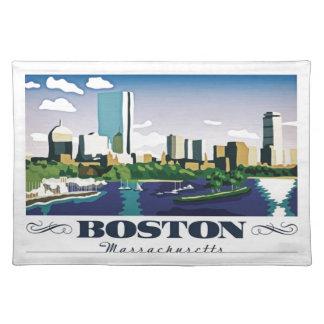Boston, Massachusetts Placemat