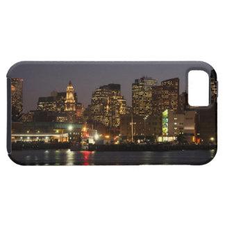 Boston, Massachusetts skyline 4 iPhone 5 Case
