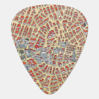 Boston Massachusetts Vintage Map of 1929 Plectrum