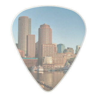 Boston skyline acetal guitar pick