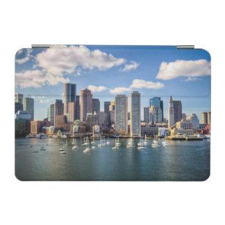Boston skyline from waterfront iPad mini cover