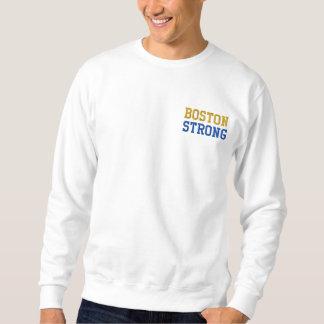 Boston Strong Embroidered Sweatshirt