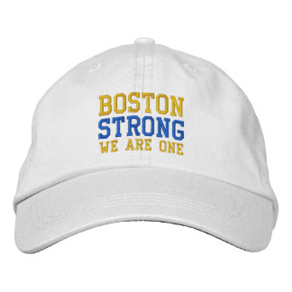 Boston Strong We Are One Embroidered Cap