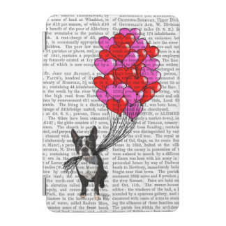 Boston Terrier And Balloons iPad Mini Cover