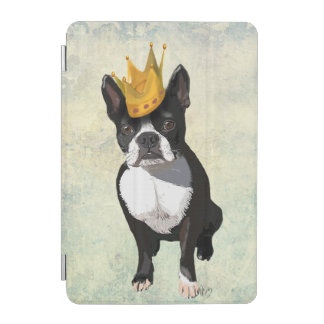 Boston Terrier and Crown iPad Mini Cover