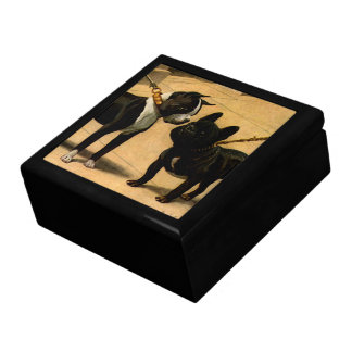 Boston Terrier and French Bulldog Gift Box