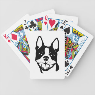 Boston Terrier Bicycle® Poker Playing Cards