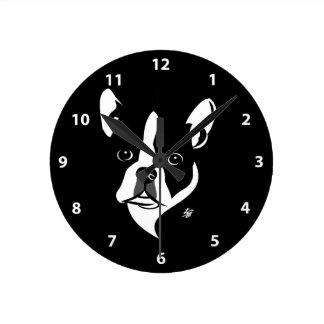 Boston Terrier Clocks