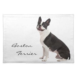 Boston Terrier dog beautiful photo custom placemat
