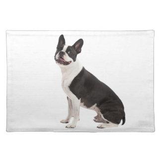 Boston Terrier dog beautiful photo placemat