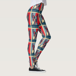 Boston Terrier Hope Inspired Leggings