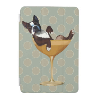 Boston Terrier in Cocktail Glass iPad Mini Cover