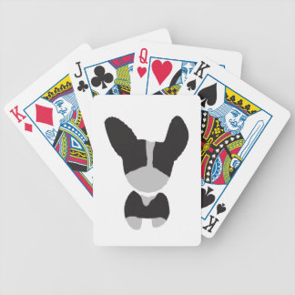 Boston Terrier Personalized Gifts for Dog Lovers Bicycle Playing Cards