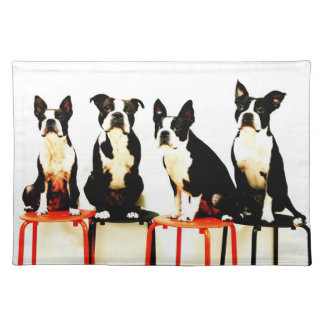 Boston terrier Ⅰ Placemat
