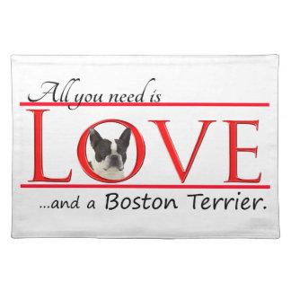 Boston Terrier Placemats
