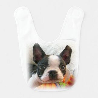 Boston Terrier Puppy Bib