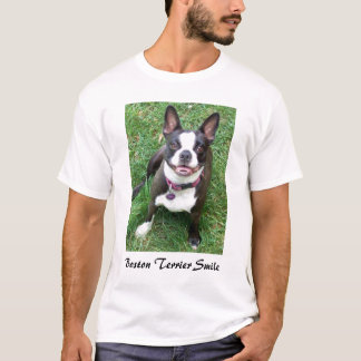 Boston Terrier smile T-Shirt