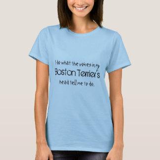 Boston Terrier Voices T-Shirt