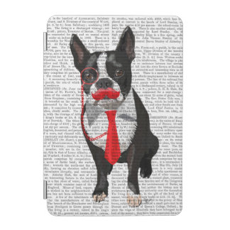 Boston Terrier With Red Tie and Moustache 2 iPad Mini Cover