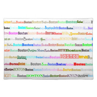 Boston Text Design II Placemat