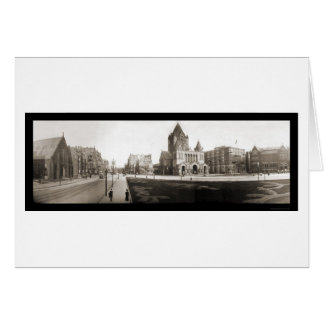 Boston Trinity Church Photo 1903 Card