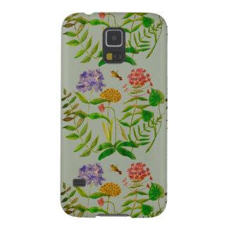 Botanical Illustration on Samsung Galaxy S5 Case