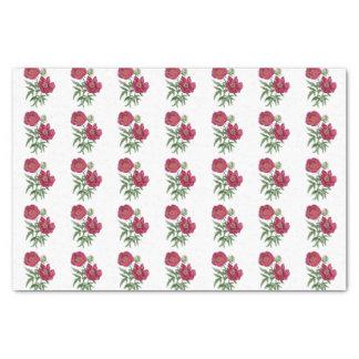 Botanical | Pink Peony flower Tissue Paper