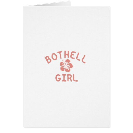 Bothell Pink Girl Cards