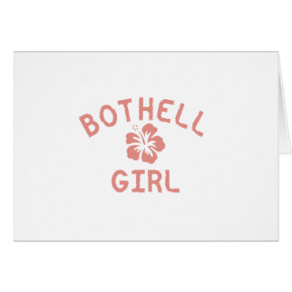 Bothell Pink Girl Greeting Cards