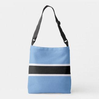 Botswana Flag Crossbody Bag