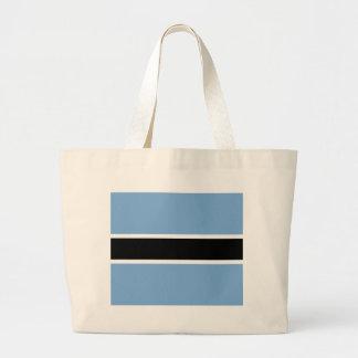 Botswana flag large tote bag