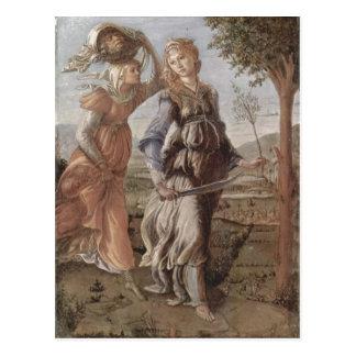 Botticelli, Sandro Die R?ckkehr Judiths nach Bethu Postcard