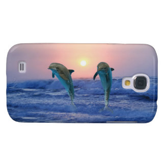 Bottlenose Dolphin at Sunrise Galaxy S4 Case
