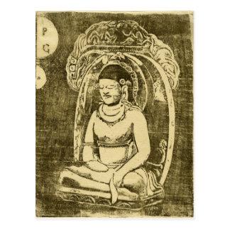 Bouddha (Buddha) by Paul Gauguin Postcard