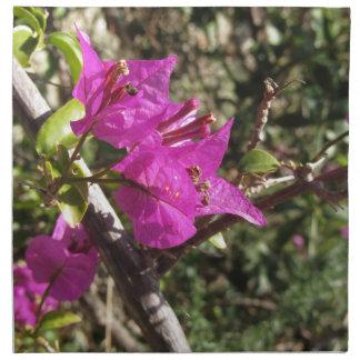 Bougainvillea flowers napkin