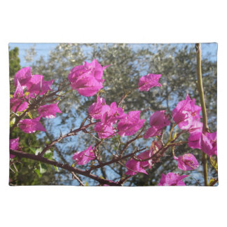 Bougainvillea flowers placemat